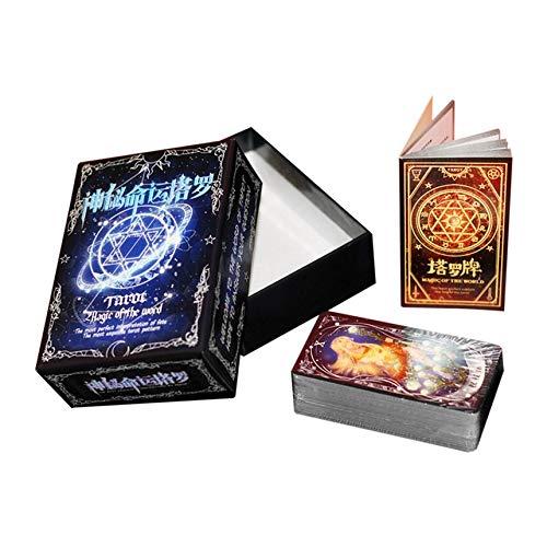 Cartas del Tarot juego de la familia Amigos Mythic Leer Fate adivinaci
