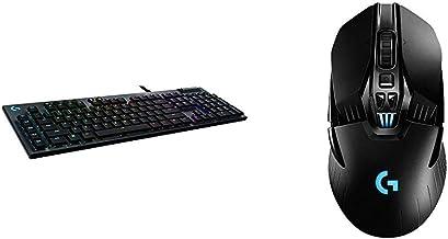 Logitech G815 RGB Mechanical Gaming Keyboard & G903 Lightspeed Wireless Gaming Mouse W/Hero 25K Sensor, PowerPlay Compatib...