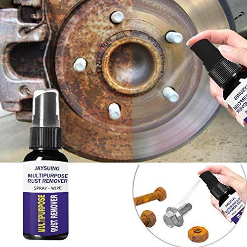 Removedor de óxido de automóviles Kaersishop, lubricante antioxidante, Superficie de Metal Pintura cromada Hierro removedor de óxido de Polvo Aplique al Aceite antioxidante de Metal