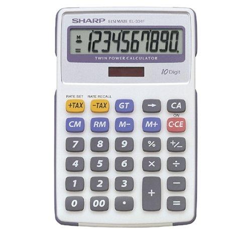 Sharp SEMI-Desk Calculator EL334FB
