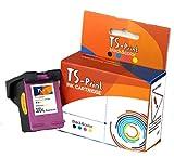 TS-Print 300XL 300 XL HP Remanufacturado Cartucho de Tinta Tricolor DeskJet D1660 D2560 D2660 D5560 F2420 F2480 F2492 F4210 F4250 F4280 F4580 F5560 Envy 110 114 120 121 PhotoSmart C4680 C4780 C4793