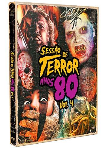 Sessão de Terror Anos 80 Vol.4 [Digipak com 2 DVD's]