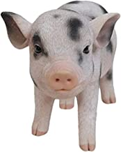 Hi-Line Gift Ltd Standing Baby Pig with black Spots