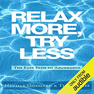 Relax More, Try Less audiobook cover art