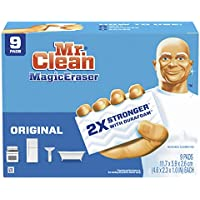 9-Count Mr. Clean Magic Eraser Cleaning Pads with Durafoam