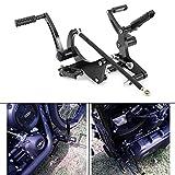TARAZON Aluminum CNC 12' 13' Forward controls Foot pegs for Harley Davidson Street Bob FXBB/Low Rider FXLR 2018 2019 2020