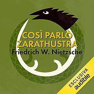 Così parlò Zarathustra copertina