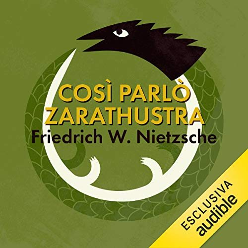 Così parlò Zarathustra audiobook cover art