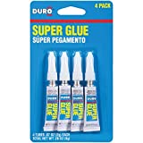 Best Super Glues - Duro Super Glue, Four 2-Gram Tubes (1400336) Review