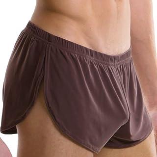 Men's Pajama Pants Pant Shorts Short Under Warm Shoe Boxer Clothing Shorts Night Warm Sche Shunks Pajama Pants