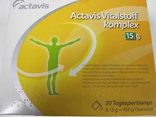 ACTAVIS Vitalstoffkomplex 15 g Granulat 30 St