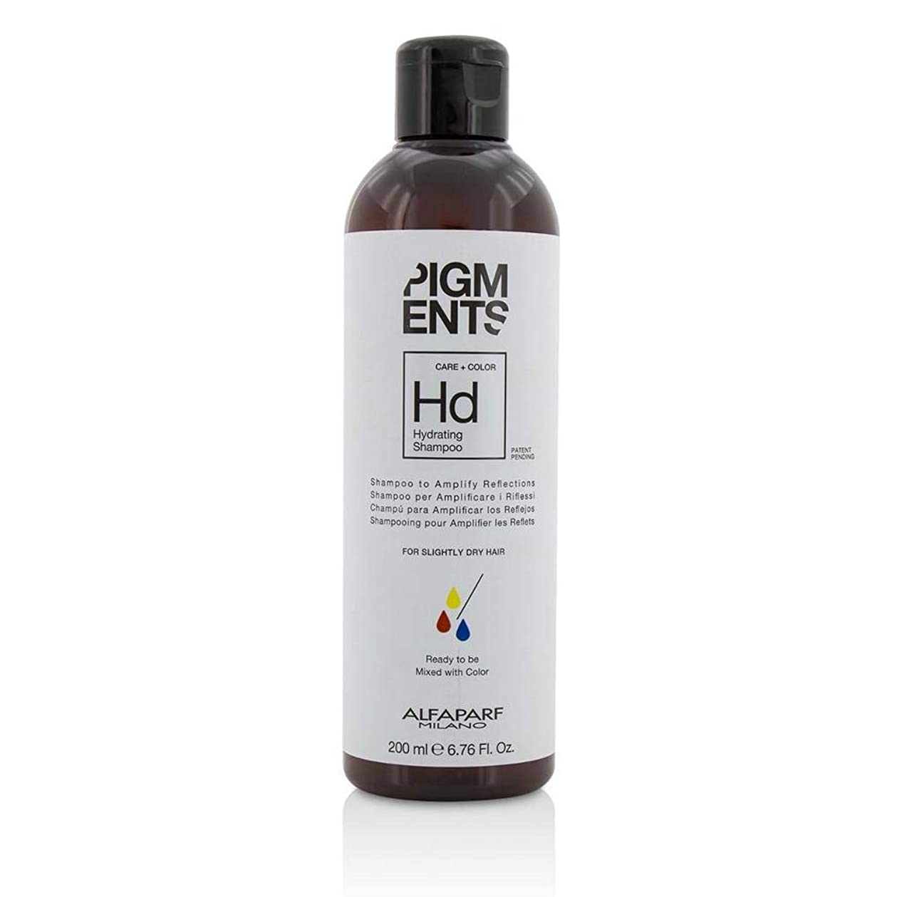 悔い改める抜本的なファブリックアルファパルフ Pigments Hydrating Shampoo (For Slightly Dry Hair) PF014095 200ml/6.76oz並行輸入品