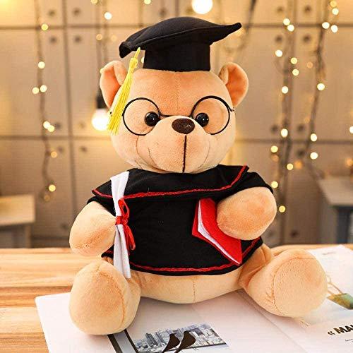 18-35 cm Niedliche Dr. Bär Plüschtier-Spielzeug weich gefüllter Teddybär Tierpuppe-Abschlussgeschenk-Home-Dekoration für Kinder Mädchen WJ514-35CM_2_ QQQNE