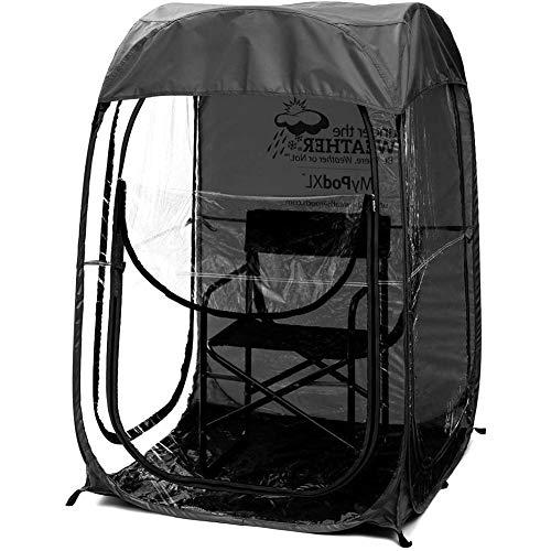 AFANG Angelzelt, Atmungsaktives Schnellöffnungszelt Mit Sonnenschutz, Netzgarn-Anti-Mücken-Beobachtung, Pop Up Tragbare Stehzelt Wurfzelt Wasserdicht Sonnenschutz Shelter,B