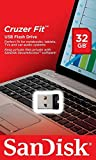 SanDisk Cruzer Fit SDCZ33-032G-B35 USB Flash Drive, 32 Go