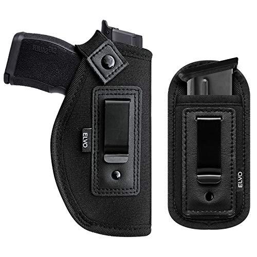2 Pack Universal IWB Gun Holster for Concealed Carry, Inside...