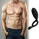 ZKO Verzögerungsring Mit Vibrationskragen Für Männer Für Paare Und Spielzeug Für Paare