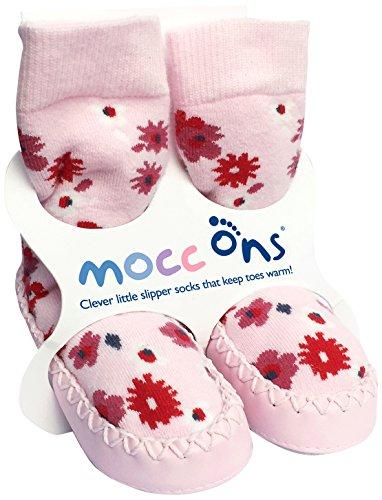 Mocc Ons 91290.0 Hüttenschuhe, Floral Ditsy 2-3 yrs, mehrfarbig