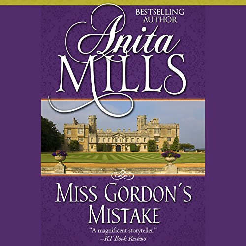 Miss Gordon's Mistake audiobook cover art