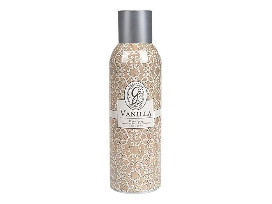 すべて指定するそれGREENLEAF ROOM SPRAY VANILLA