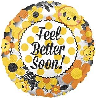 Amscan 3548001 Feel Better Soon Round Foil Balloon