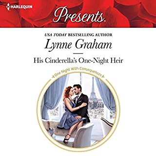 His Cinderella's One-Night Heir audiobook cover art