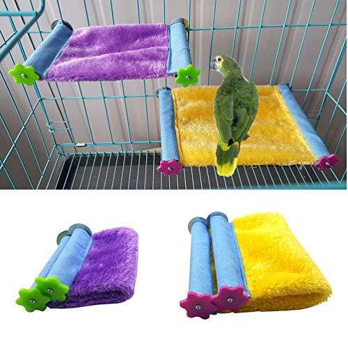 Casa Nido Suave Aves Loro Cama Caliente Hamaca Jaula de pájaros para Hamster Budgie Parakeet Cockatiel