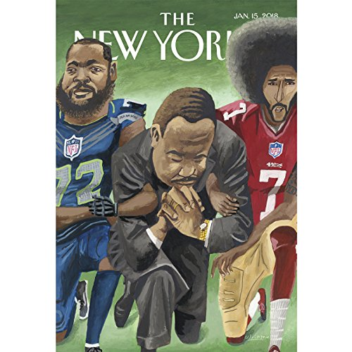 The New Yorker, January 15th 2018 (Sarah Stillman, Jelani Cobb, David Remnick) audiobook cover art