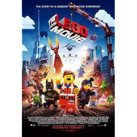 24x36 Brie v3 Robbie - Pratt The Lego Movie 2: The Second Part Movie Poster