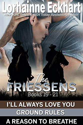 The Friessens Books 19 - 21 by Lorhainne Eckhart ebook deal