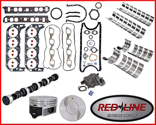 Stage Two High Performance Master Engine Rebuild Kit FITS: 1971-1979 Chevrolet BBC 454 7.4L V8 w/Flat-Top Pistons