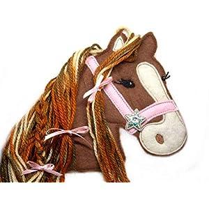 Applikation Pferd Aufnäher Pony Pferde Dekoration Kinder Schultüte Schultasche freie Farbwahl