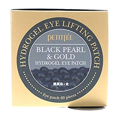 Petitfee, Black Pearl & Gold Hydrogel Eye Patch, 60 Patches by Petitfee