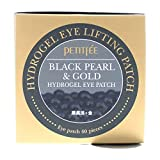 Petitfee Black Pearl & Gold Hydrogel Eye Patch, 60 Patches