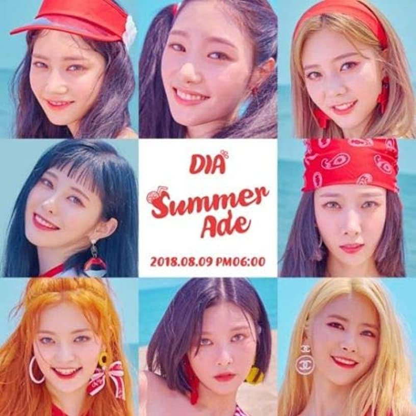 Dia - [Summer Ade]4th Mini Album CD+96p Booklet+1p PhotoCard+1p Postcard+Sticker Set+Special Photo K-POP Sealed