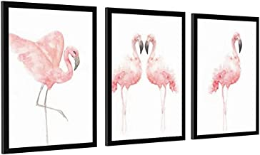 Nordic Flamingo Poster Canvas Art Print voor Wall Decor Frame-style1 28×40inch (70×100cm)