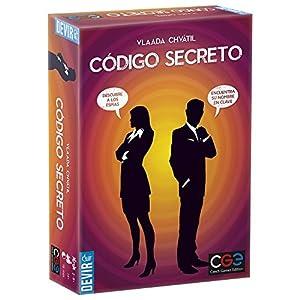 Devir- Código Secreto Juego de Mesa, Multicolor, única (BGCOSE)