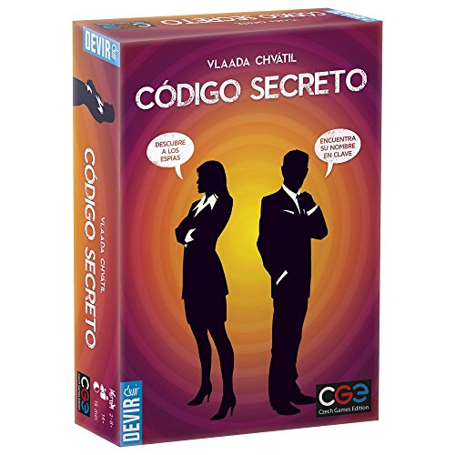 Devir- Código Secreto Juego de Mesa (BGCOSE)