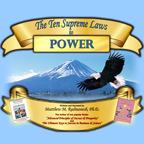 The Ten Supreme Laws to Power audiobook cover art
