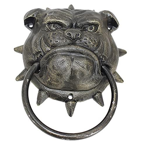 ZJMK Aldabas 7,2 Pulgadas Hierro Fundido Estilo Antiguo Bull
