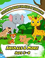 Coloring Book for Kids & Toddlers: Activity Book for Preschooler. Coloring Book for Boys, Girls.