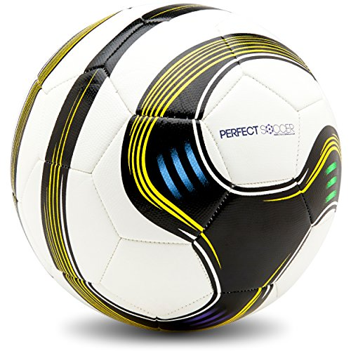 Perfect Soccer Ball Size 5 Swerving Soccer Ball...