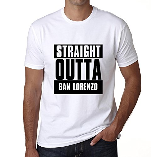 One in the City Straight Outta San Lorenzo, Camisetas para Hombre, Camisetas, Straight Outta Camiseta