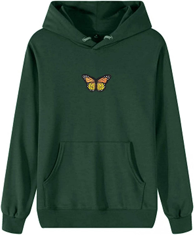 Hoodies for Women, Women Hoodies Crop Tops Zip-Up Printed Long Sleeve Drawstring Sweatshirts Pullover with Pocket