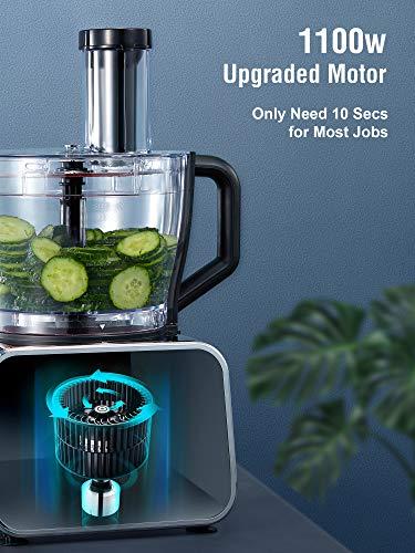 Decen 1100W Procesador de Alimentos/ Robot de