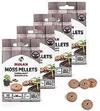 Biolan - Moospellets ecológicos sin turba para la germinación de semillas, 48 unidades