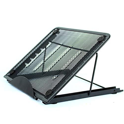 6 Marchas Ajustable Soporte Para Portátil,Multifunción Soporte Portátil,Multi-stand De ángulo.Soporte Para Laptop-Negro 9x7x1 pulgadas