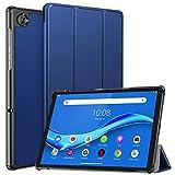 ZtotopCase Funda para Lenovo Tab M10 FHD Plus 10.3 Pulgada 2020, Ultrafina Smart Cover de PU Piel, Compatible con Lenovo Tab M10 FHD Plus 10.3' TB-X606F/TB-X606X, Azul