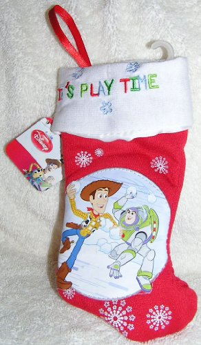 Petit Disney Toy Story Woody et Buzz l'éclair Mini 17,8 cm Chaussette de Noël