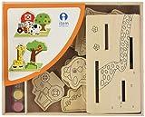 Item - Puzzle madera 3D para colorear (JE-132876) , color/modelo surtido